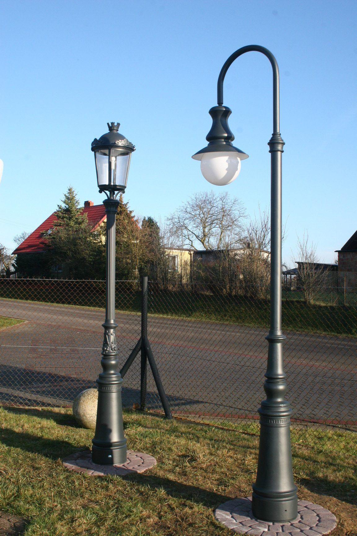 latarnia ogrodowa, stylowa latarnia parkowa, oświetlenie ogrodowe
